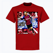 Messi cotton lifestyle t-shirt
