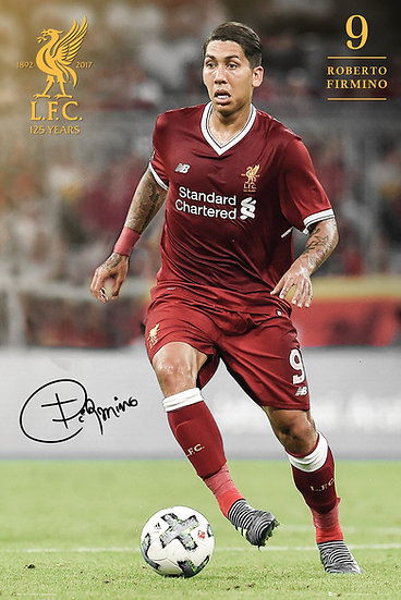 Liverpool  Firmino 17-18 SP1462