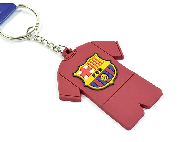 Barcelona FC PVC kit keychain