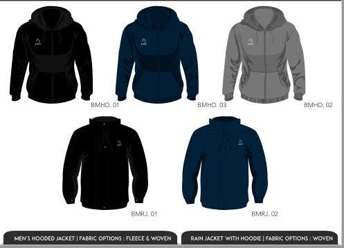 Piranha jackets
