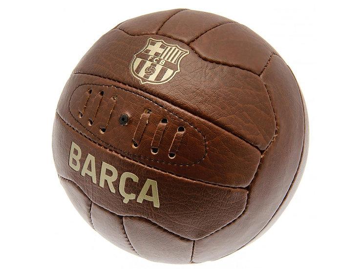 BARCELONA FAUX LEATHER RETRO BALL SZ5