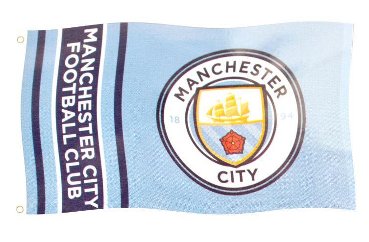 Manchester City FC Flag 5x3ft