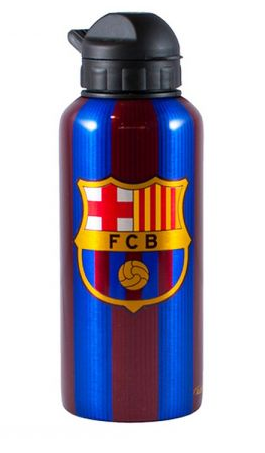 FC BARCELONA STRIPED 500ML ALUMINIUM WATER BOTTLE