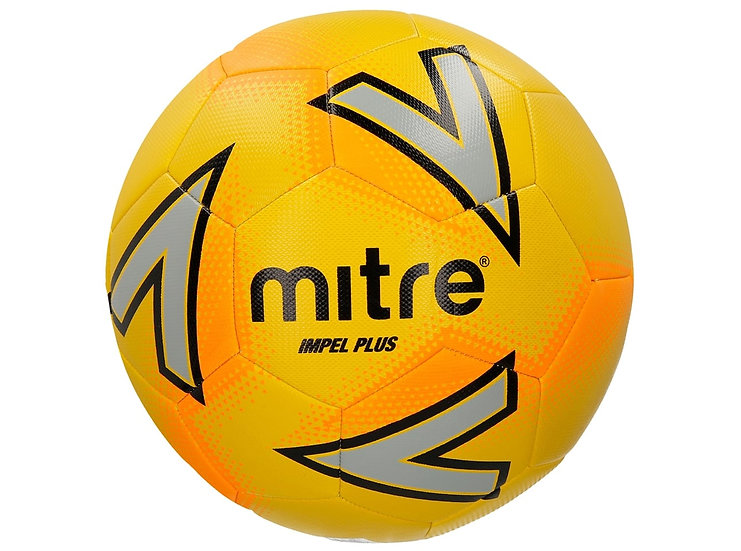 Mitre Impel Plus football-Yellow
