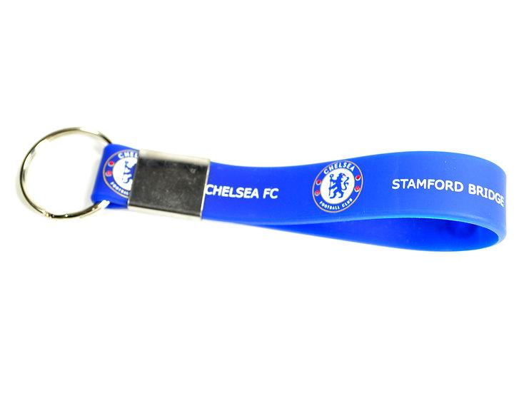 Chelsea FC silicon key chain