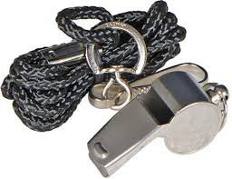 NIVIA WHISTLE (STEEL)
