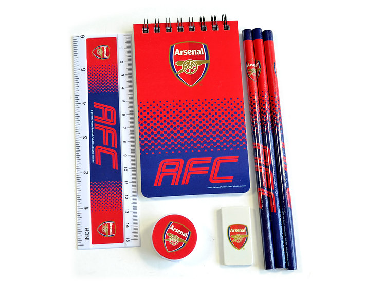 ARSENAL FADE STATIONARY SET