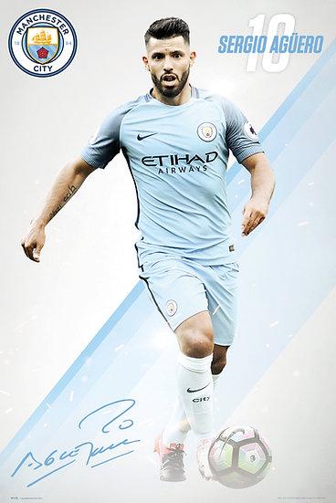 Manchester City Aguero 16/17 SP1378