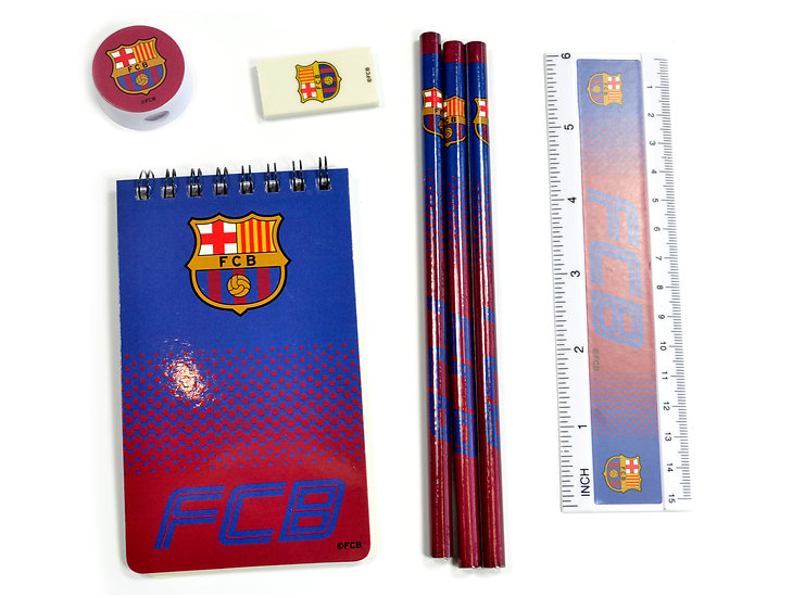 BARCELONA FADE STARTER STATIONERY SET