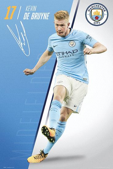 Manchester City  De Bruyne 17-18 SP1473