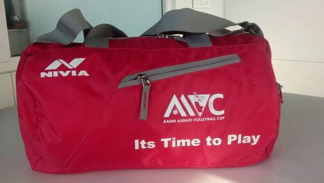 Kit bags with printing