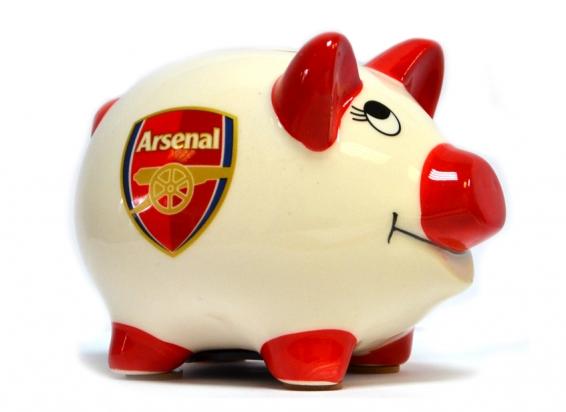 ARSENAL PIGGY CERAMIC BANK