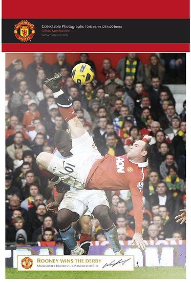 Man Utd Rooney Derby Goal PFF192