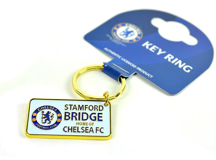 Chelsea street sign key ring