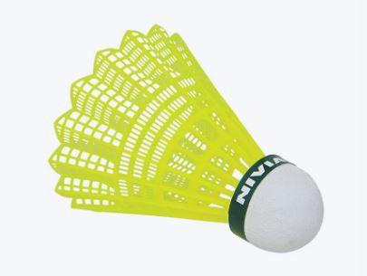 Nivia nylon feather training badminton shuttle cock