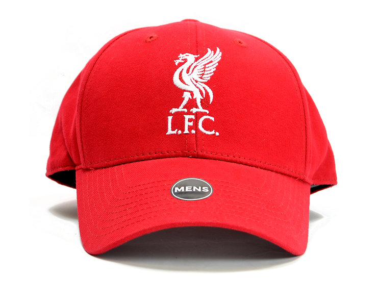 Liverpool basic fan cap Red