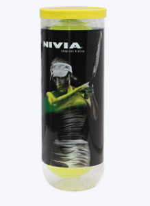 NIVIA SPEED 1 TENNIS BALLS 3 IN A TUBE