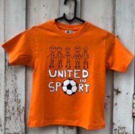 United in sport kids tee