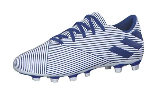 Adidas Men's Nemeziz 19.4 FxG White/Team Royal Blue