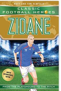 Football heros Zidane