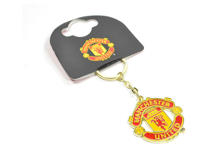Manchester United FC crest key ring