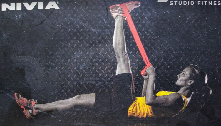 Nivia latex resistance strap