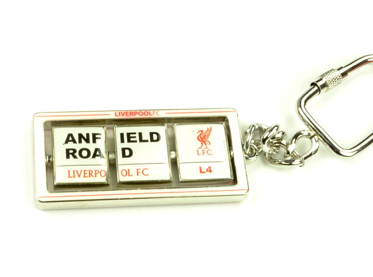 Liverpool FC stadium flip key chain