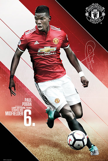 Manchester United  Pogba 17-18 SP1447