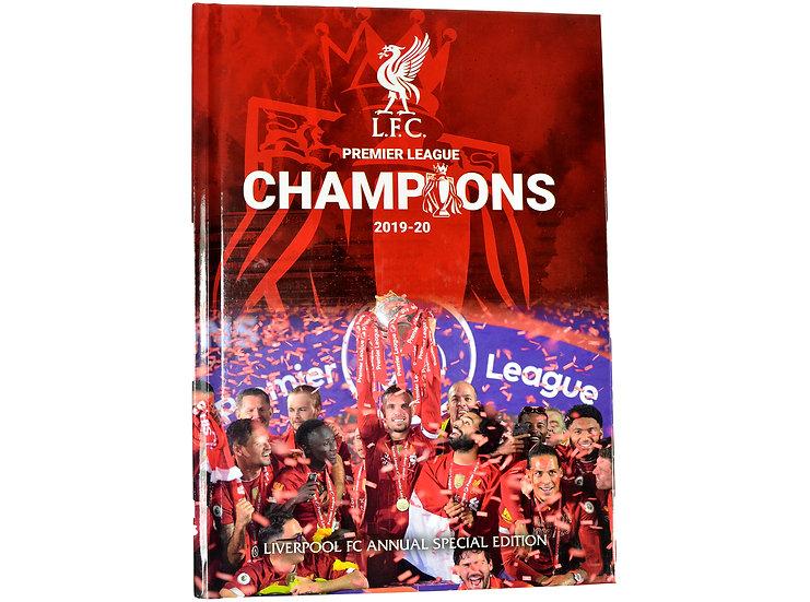 Liverpool official Premier league champions 19-20 Annual