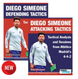 Diego Simeone Defending and Attacking Tactics book set
