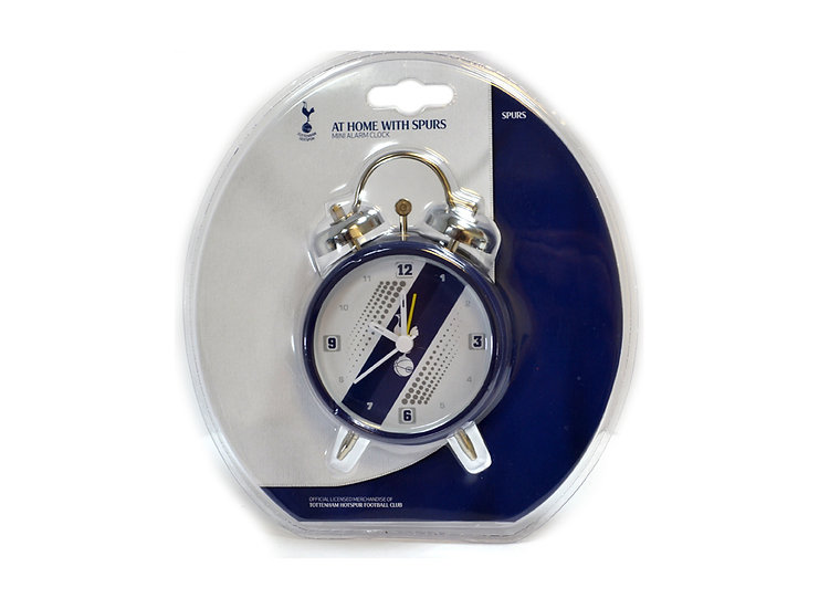 TOTTENHAM STRIPED ALARM CLOCK