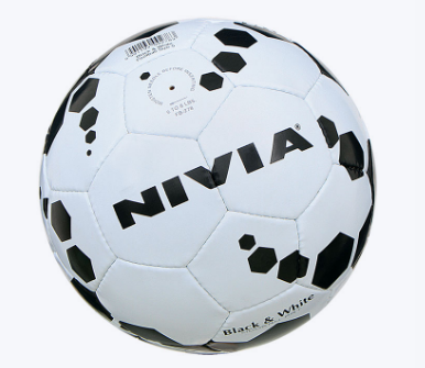 NIVIA BLACK AND WHITE FOOTBALL-SIZE 5