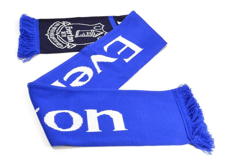 Everton Jacquard Nero scarf