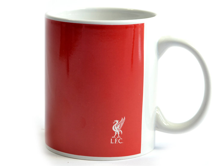 Liverpool FC half tone mug