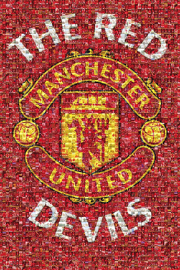 Manchester United Mosaic Maxi SP0626