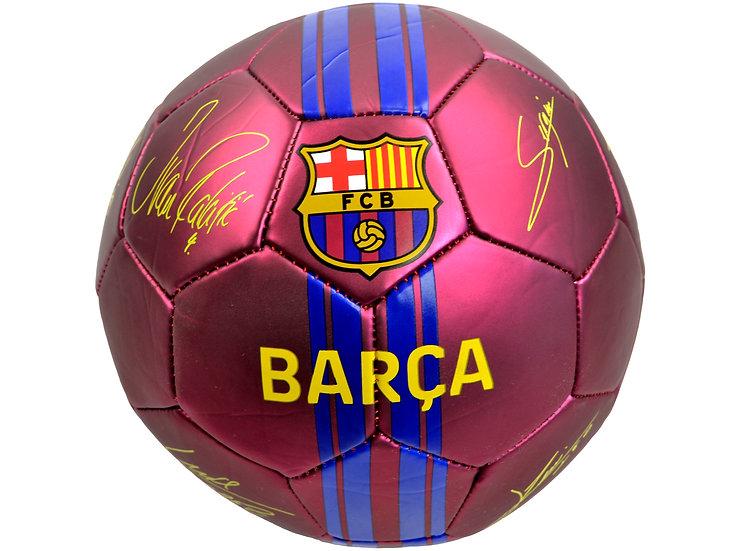 BARCELONA MATT SIGN BARCA BALL SZ 5