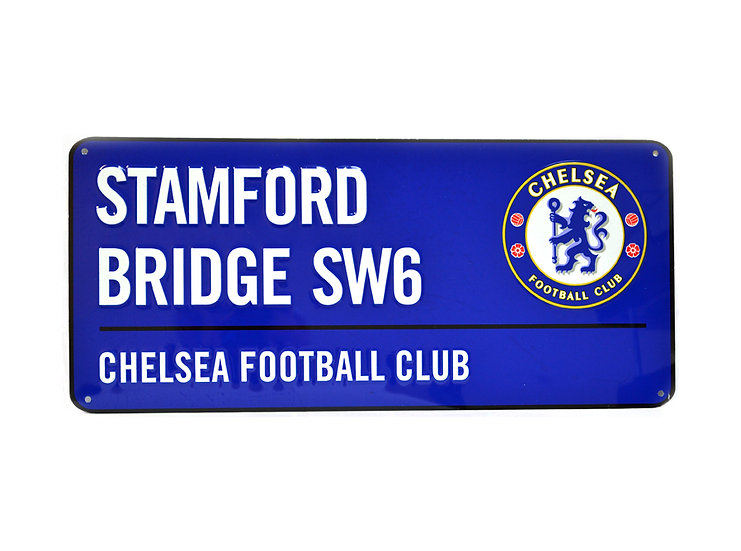 Chelsea colour street metal sign