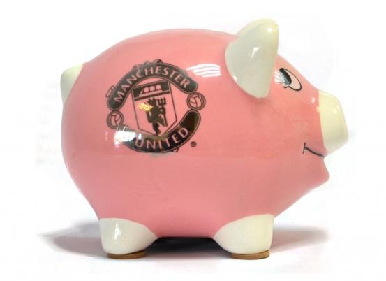 MANCHESTER UNITED PIGGY BANK