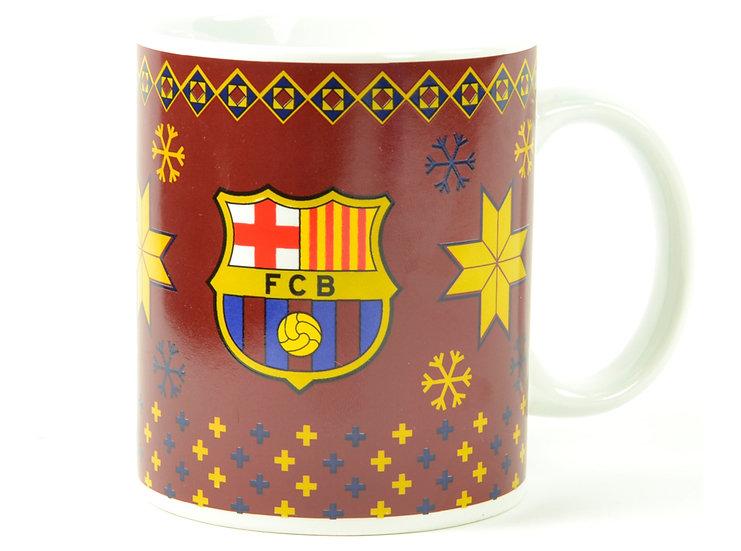 FC Barcelona christmas mug