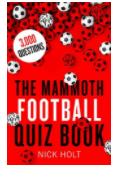 The Mammoth football quiz book by Nick Holt