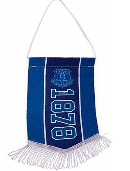 Official Everton FC Football Crest Mini Pennant