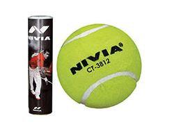 Nivia Cricket Tennis Ball pack of 6