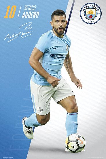 Manchester City  Aguero 17-18 SP1472