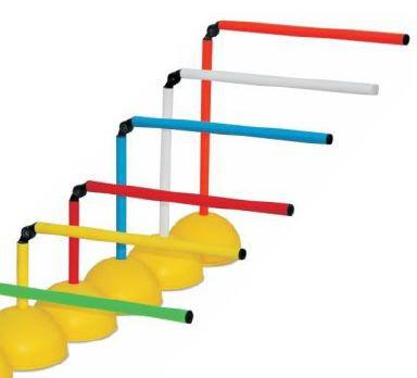 Agility hurdle-Pole set