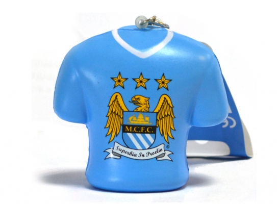 MANCHESTER CITY STRESS RELIEF KEYCHAIN