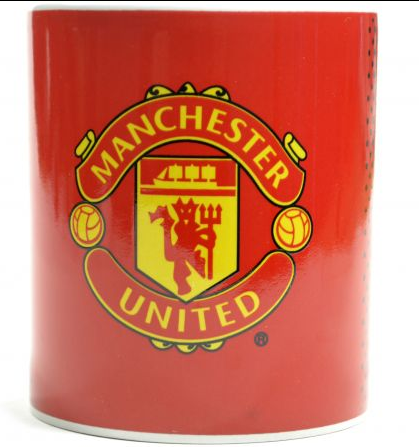 Manchester United Fade mug