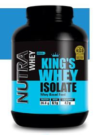 NUTRA KING`S WHEY ISOLATE