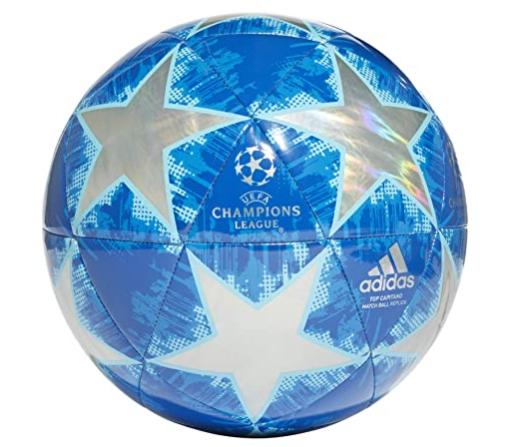 Adidas Football Size 5 -Finale 18 TOP Capitano Blue