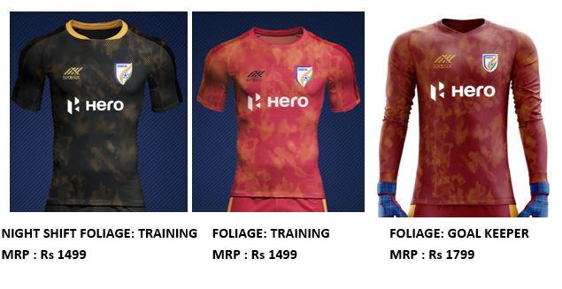 National football training jerseys