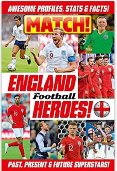 Match! England Football Heroes Paperback